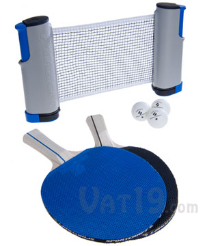 Table Tennis To Go Play Ping Pong On Nearly Any Table