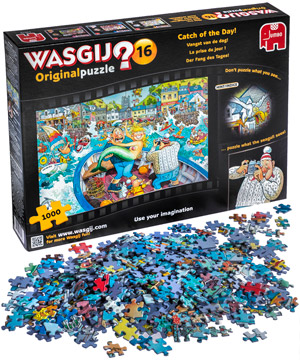 Calculate Vat Backwards >> WASGIJ? 1000 piece jigsaw puzzles from reverse perspective.