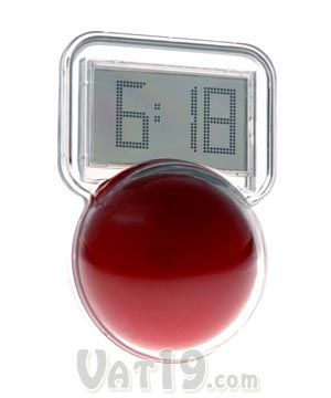 Wobble LCD Clock