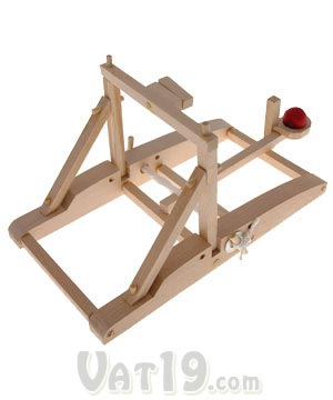 Working Wood Catapult Kit