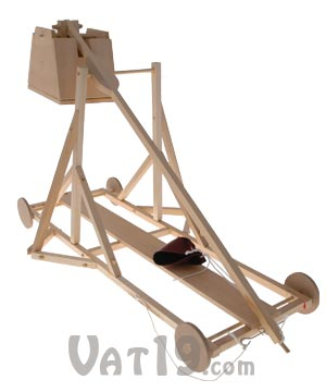 Working Wood Trebuchet Kit