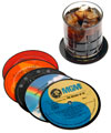 Recycled LP Record Coasters