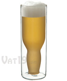 Upside Down Beer Glass