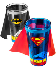 Caped Pint Glasses