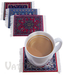 CoasterRugs Drink Coasters