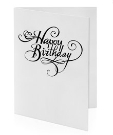 Joker Birthday Card