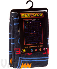 Pac-Man Fleece Blanket
