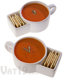 Soup & Cracker Mug Set