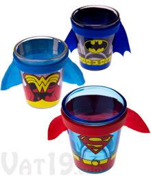 Caped Shot Glasses