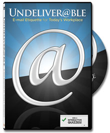Undeliverable DVD: Customer Service via Email