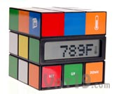 Cube Clock Temperature Mode