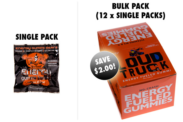 Choose between single packs and 12-packs.