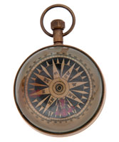 Eye of Time clock - rear