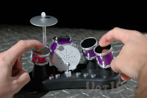 Finger Drums Electric Drum Set with touch-sensitive drums