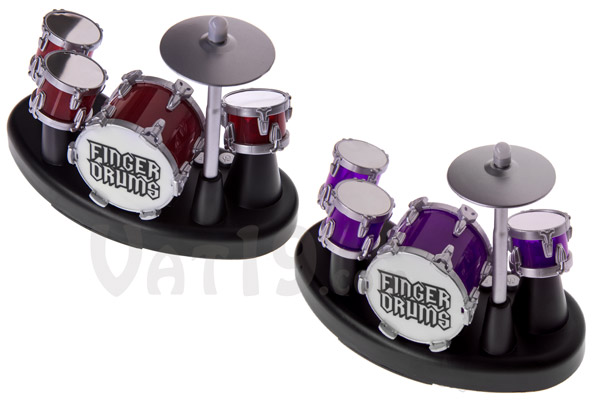 Finger Drums are available in two colors.