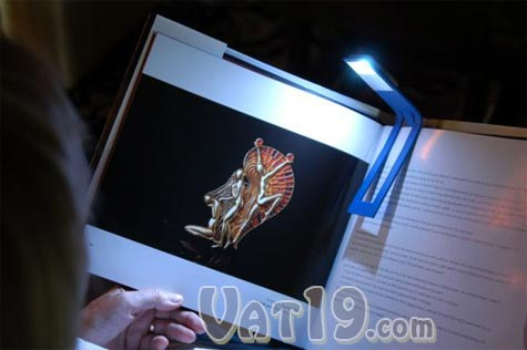 The Flexilite Flexible Bookmark also doubles as a reading light.