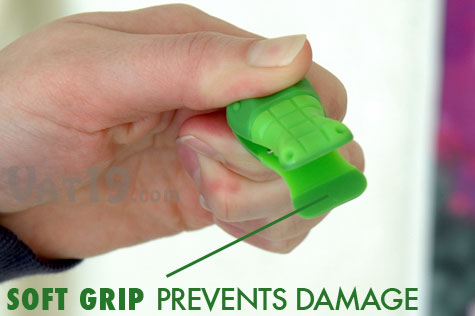 Gator Refrigerator Magnet Clips feature non-skid jaws