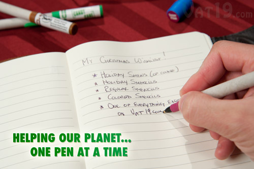 Smens write just as well as any normal ballpoint pen.