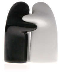 Hug salt and pepper shakers - Salt and pepper hug ...