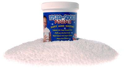 Insta Snow Powder Creates Fake