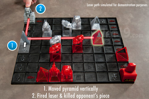 Khet Laser Game Demonstration 2