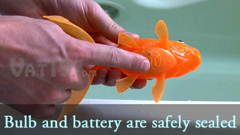 Koi Toy battery compartment