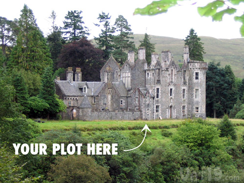 Purchase of the Become a Laird or Lady Gift Box provides access to the Dunans Castle.