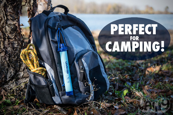The LifeStraw Portable Water Filter is great for camping.