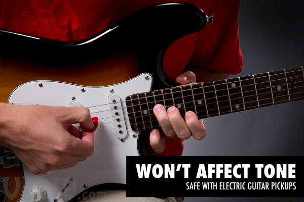 Magnetic Guitar Picks will not affect the tone of your guitar or its pickups.
