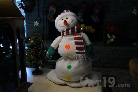 Melting Musical Snowman