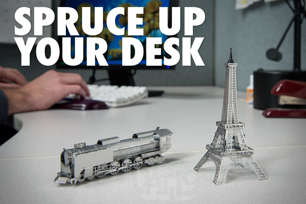 Metal Works 3D Laser Cut Models are awesome decorations for the home or office.