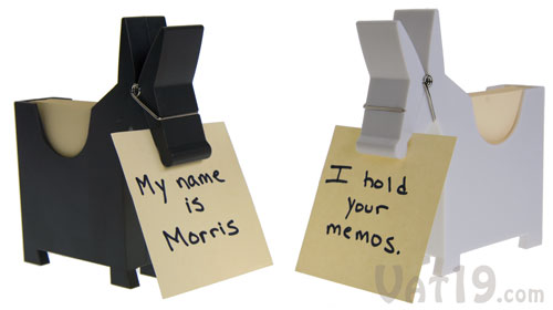 Morris Memo is available in several styles