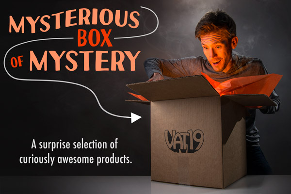 The Mysterious Box Of Mystery Surprise Curated Selection