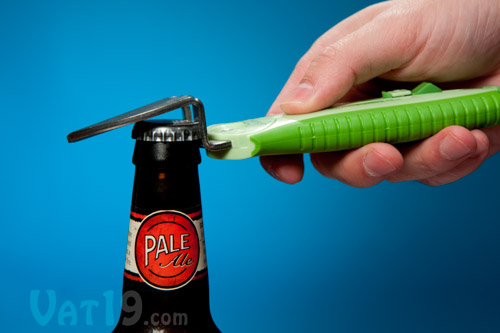The OpenIt! is also a bottle opener.