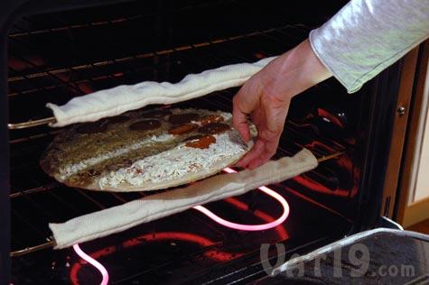 how to clean burnt oven racks