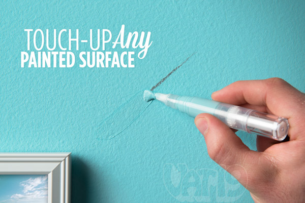 Touch up marks on any painted surface with Slobproof! Paint Retouching Pens.