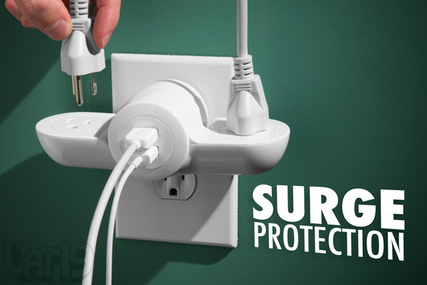 The Pivot Power Mini is an outlet expander and a surge protector.