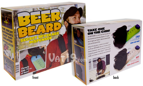 Prank Packs Beer Beard - Secret Beverage Container