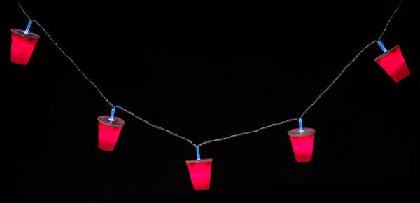 Red Party Cup: String of Lights