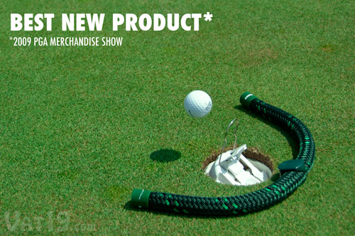 The RoboCup Golf Ball Return Robot was voted Best New Product at the 2009 PGA Merchandise Show.
