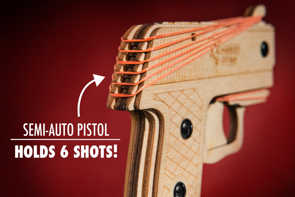 The Diy Rubber Band Pistol