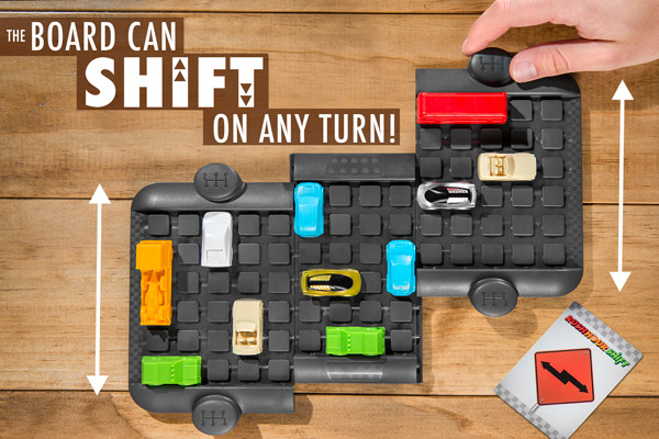 Board can shift on any turn!