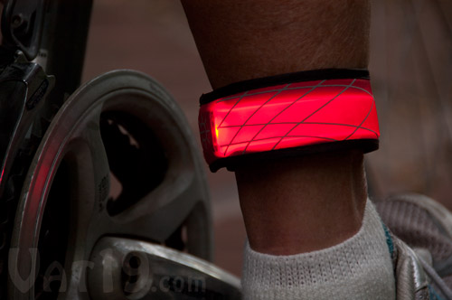 SlapLit LED Slap Bracelet is great for walking, hiking, jogging, and biking.
