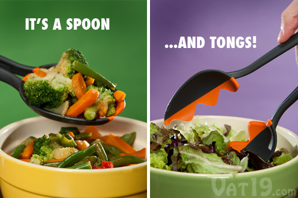 Spoon Tongs are a clever kitchen gadget.