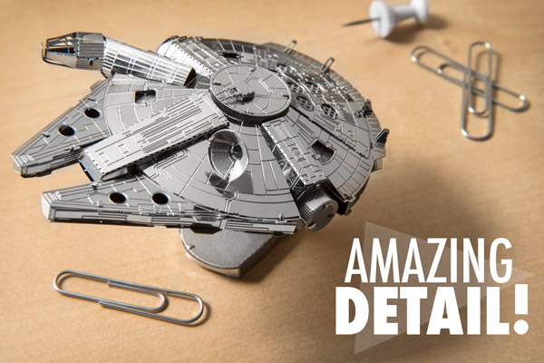 Star Wars Metal Earth Models are incredibly detailed.