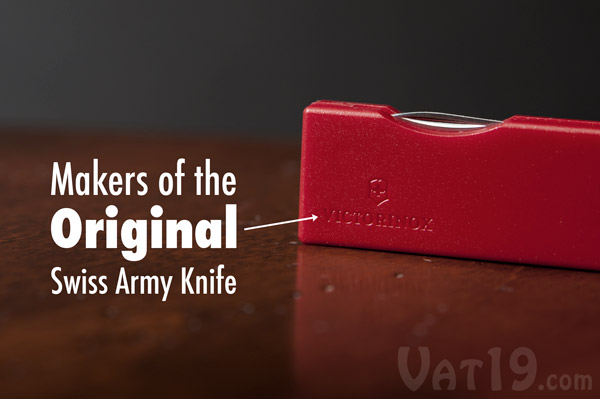 The Swiss Army Knife Keychain is made by Victorinox, the originators of the Swiss Army Knife.