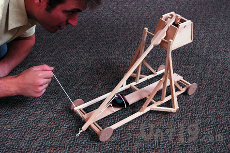Wooden Trebuchet Kit