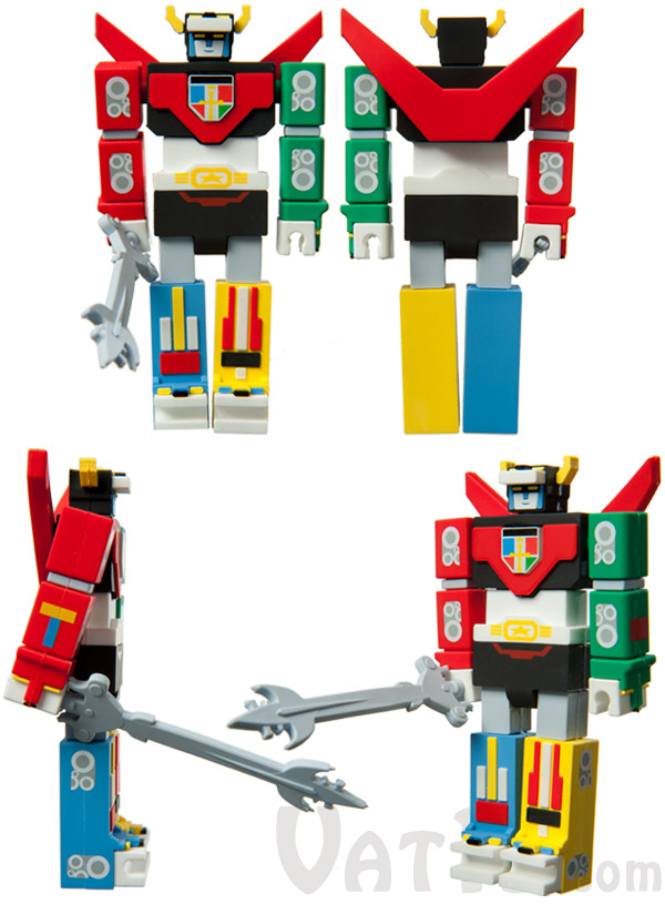 Voltron USB Flash Drives looks awesome from any angle.