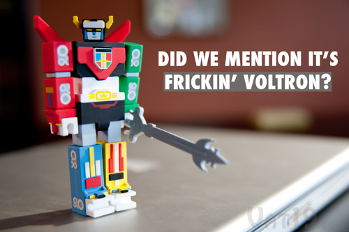 Voltron USB Flash Drive is awesome.