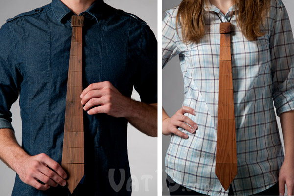 The Wood Tie is great for men and women.